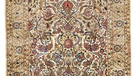 Kaschan antik, reine Seide, Persien