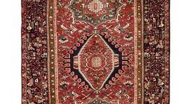 Gharajeh, Persien, Läufer