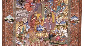 Täbriz, Persien, Vier Jahreszeiten-Motiv