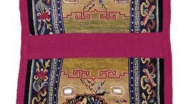 Tibet alt, Satteltasche